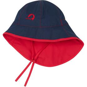 Finkid Ranta Sport Nakrycie głowy Dzieci, navy/red